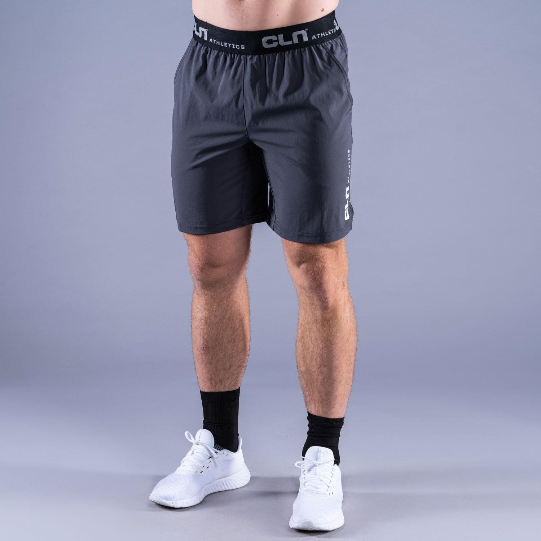 CLN Dino stretch shorts Graphite