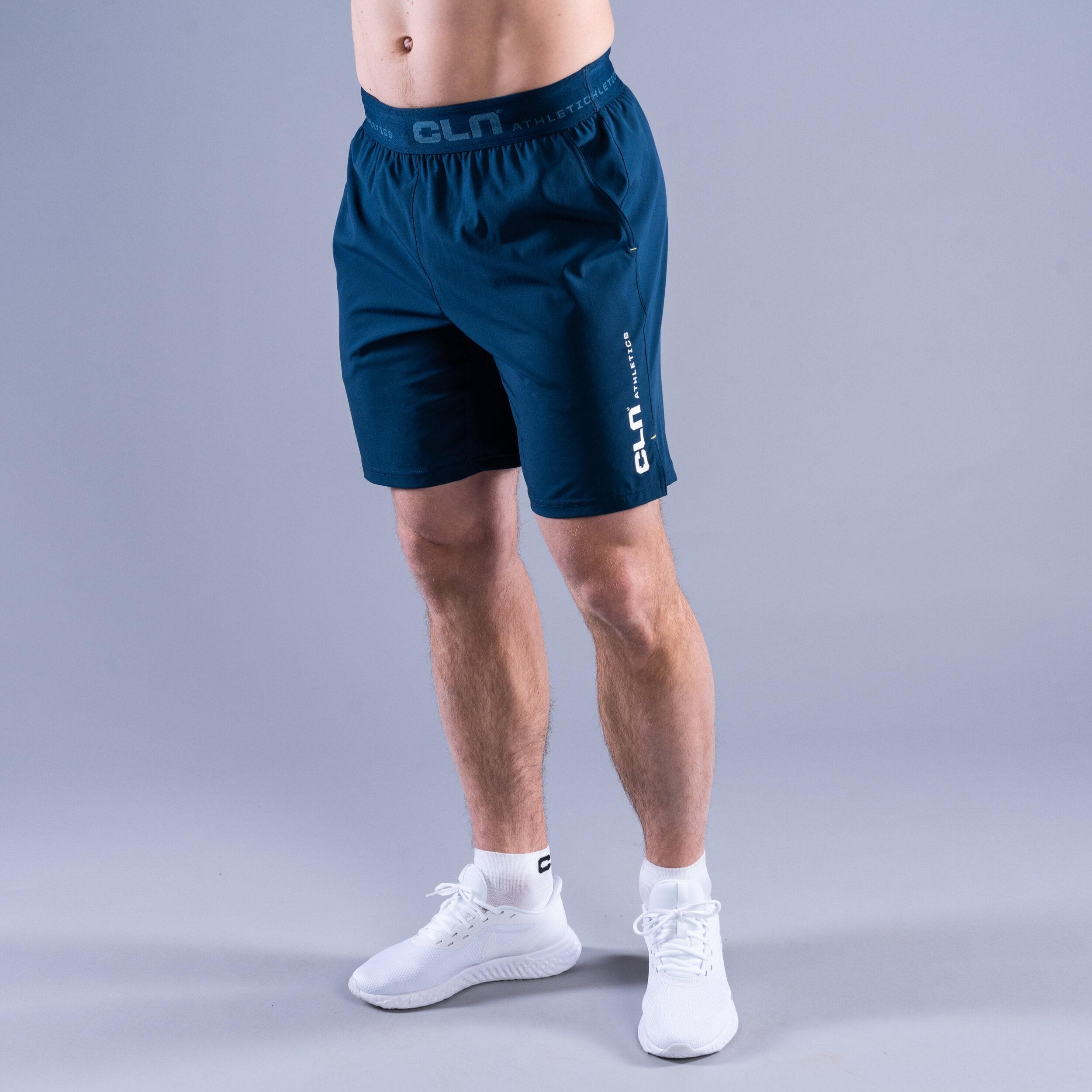 CLN Dino stretch shorts Titan blue
