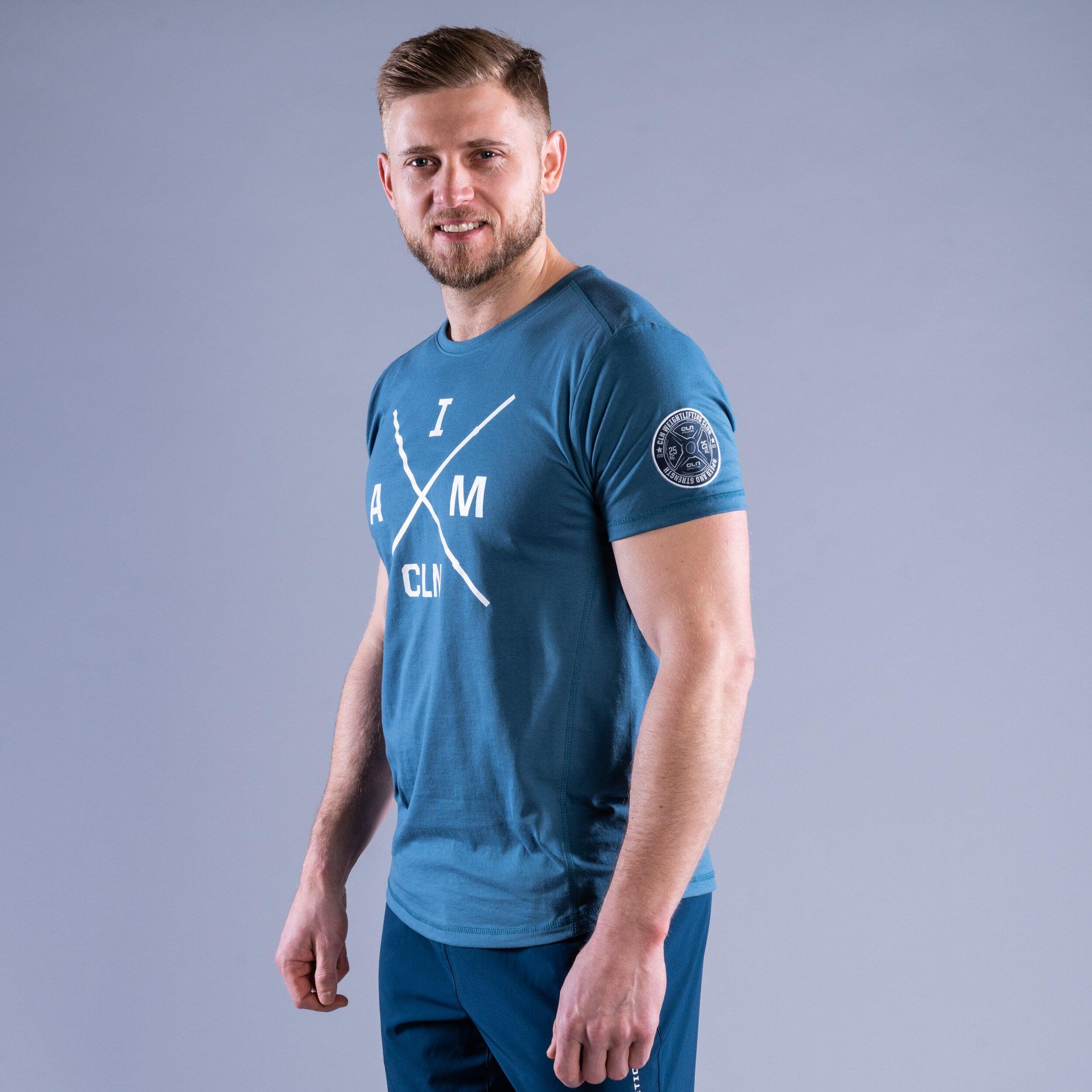 CLN Instructor t-shirt Ocean blue