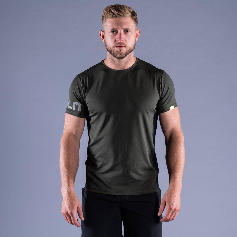 CLN Mist t-shirt Forest green