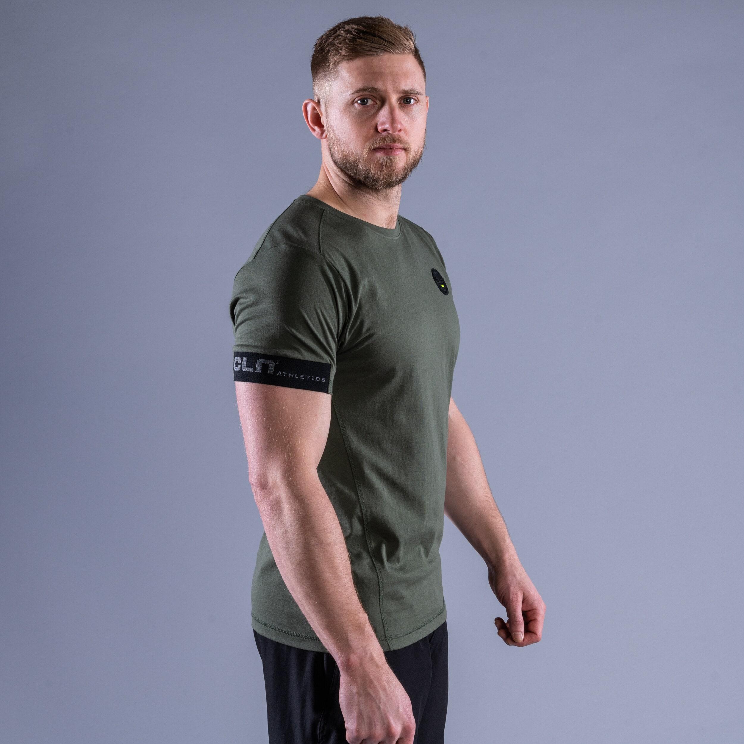 CLN Rush t-shirt Moss green
