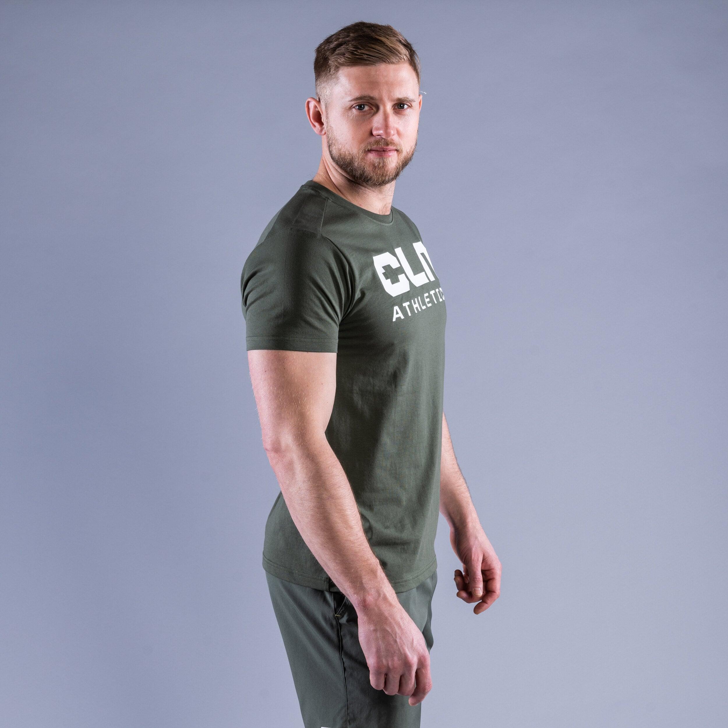CLN Promo t-shirt Moss green