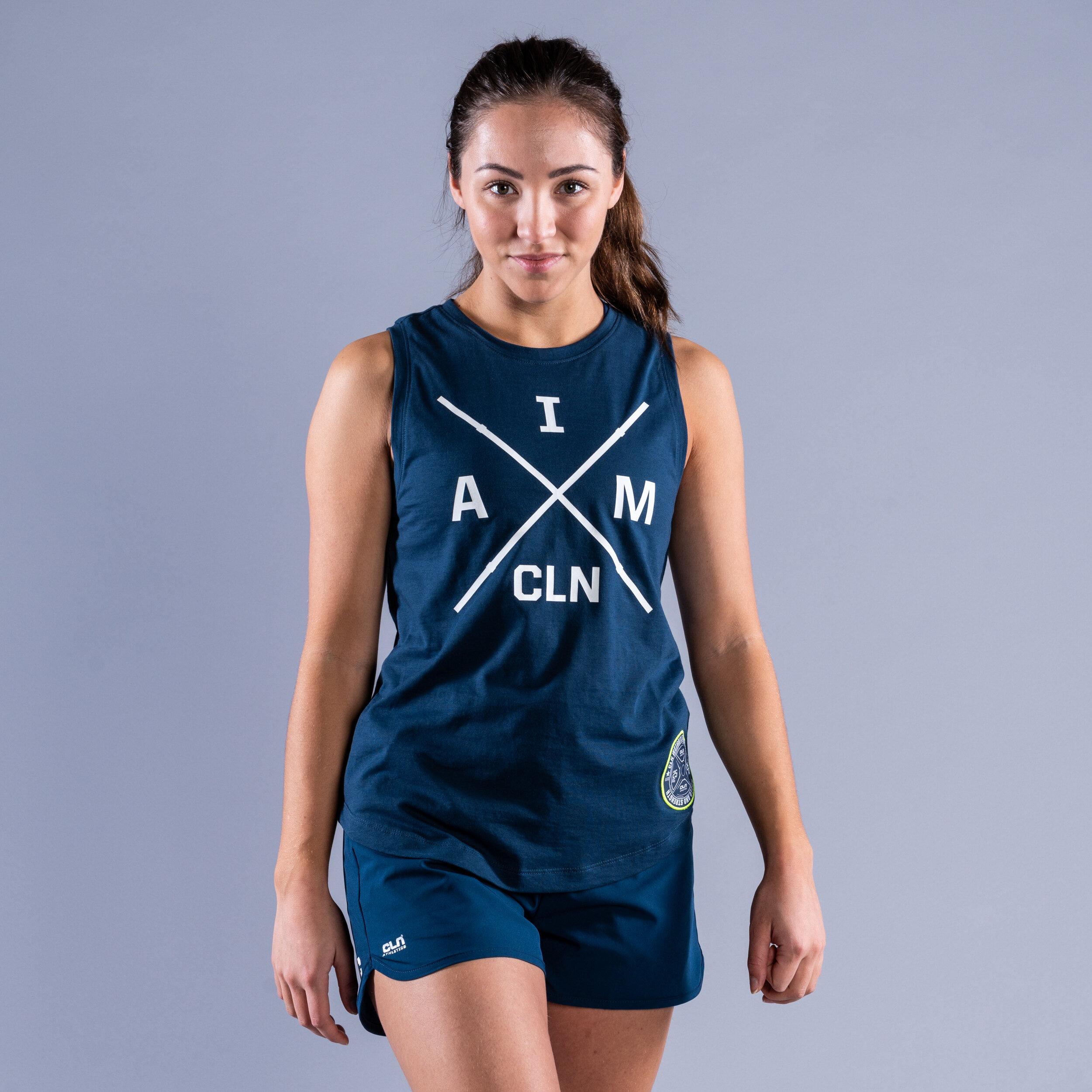 CLN I am ws tank Titan blue