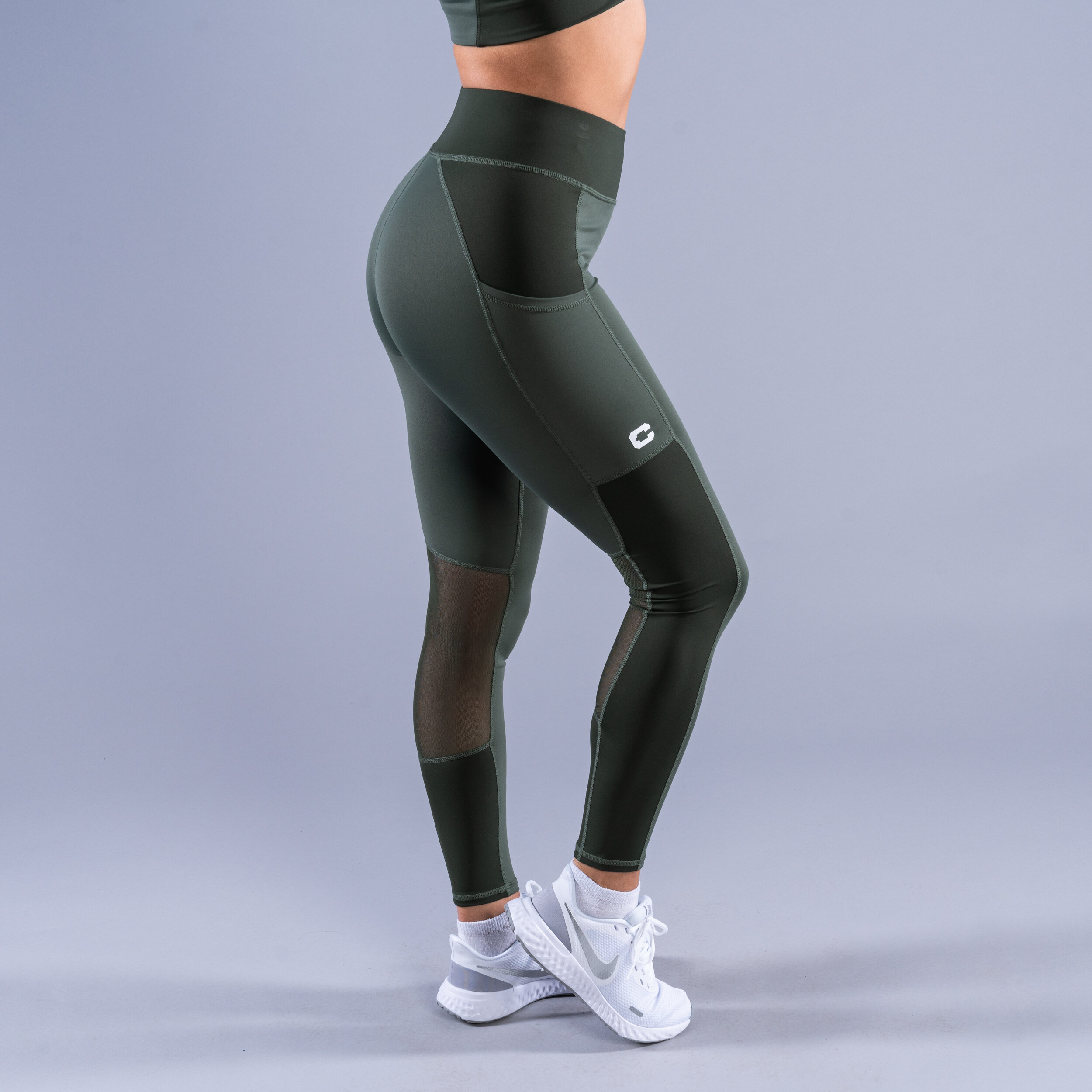 CLN Freedom ws tights Moss green