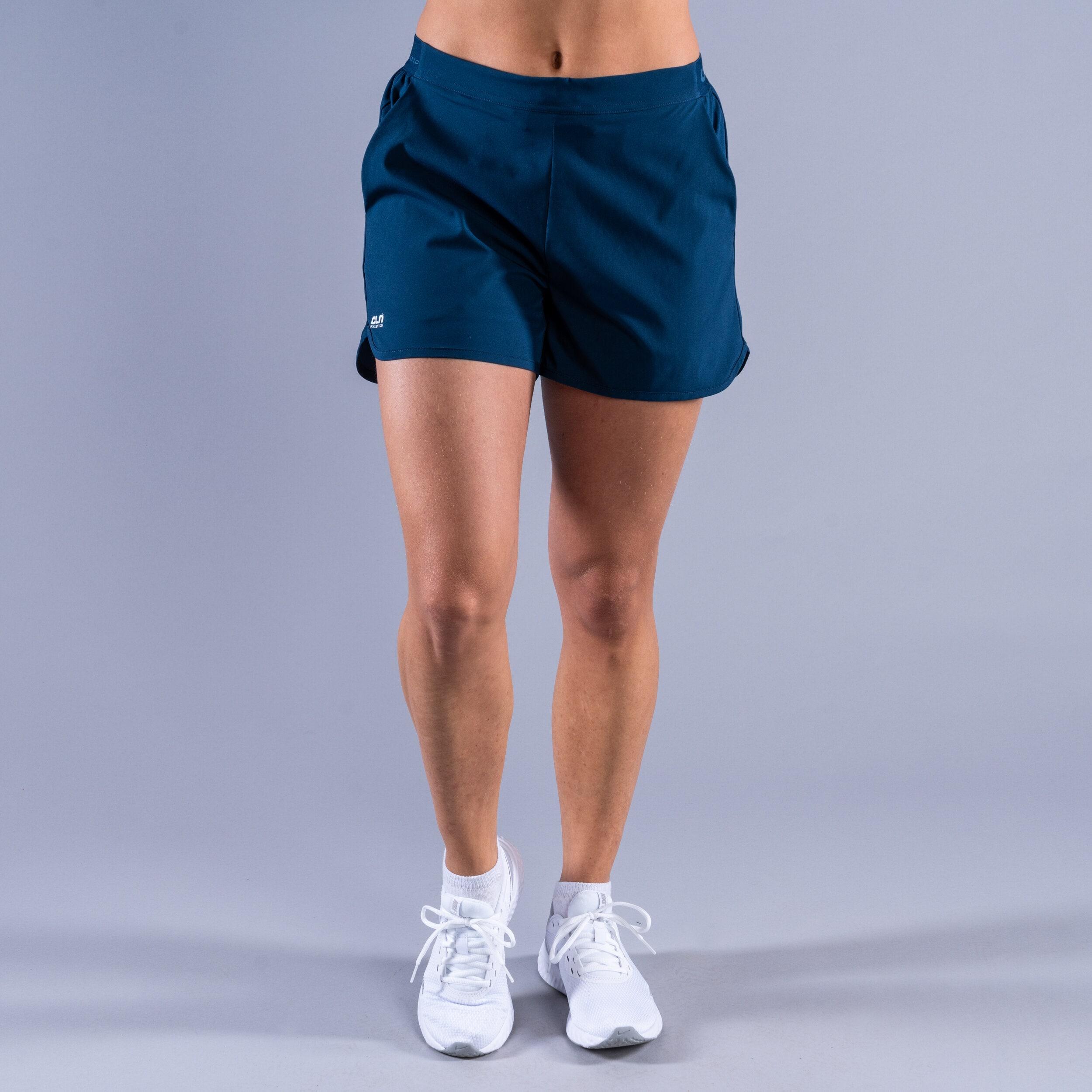 CLN Action ws stretch shorts Titan blue