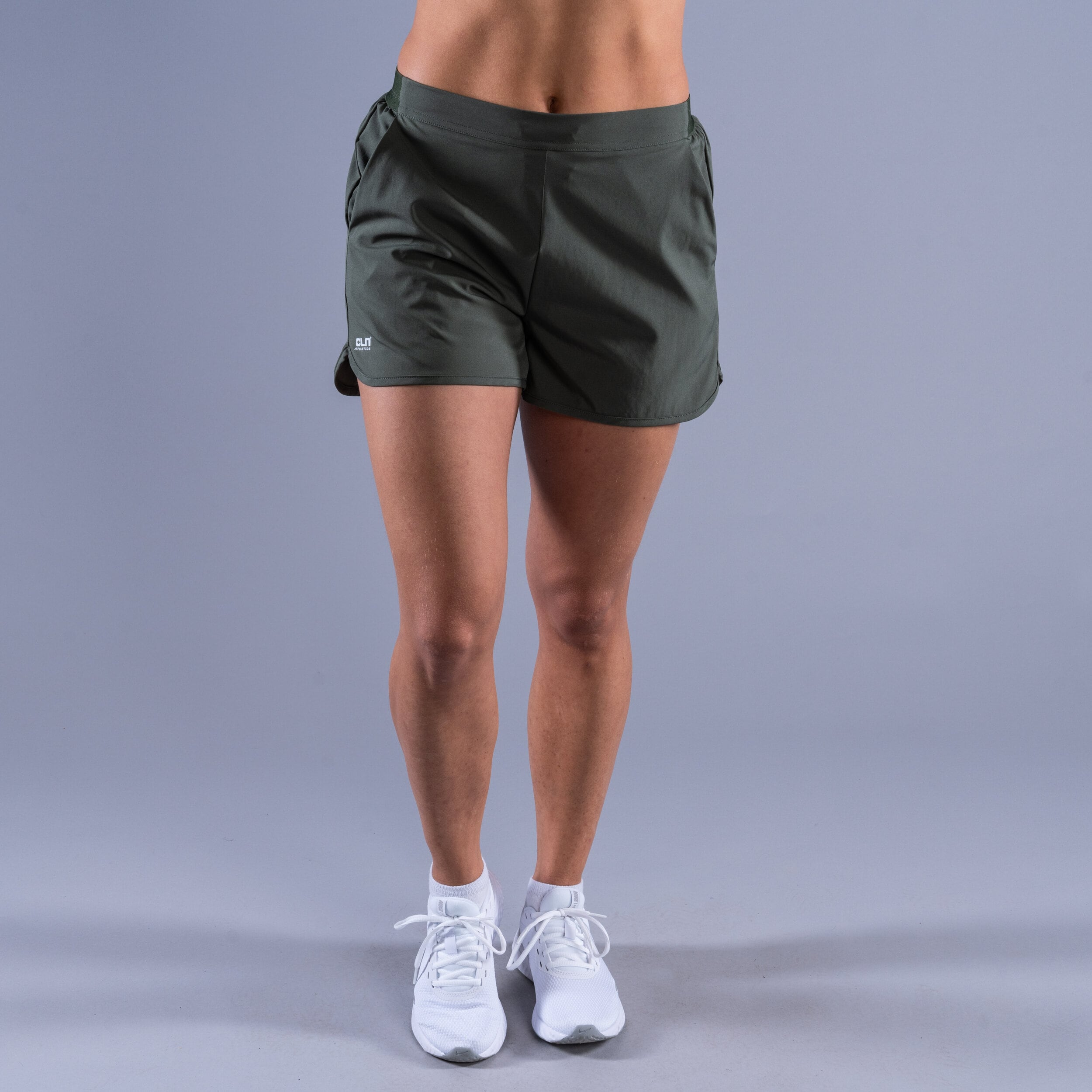 CLN Action ws stretch shorts Moss green