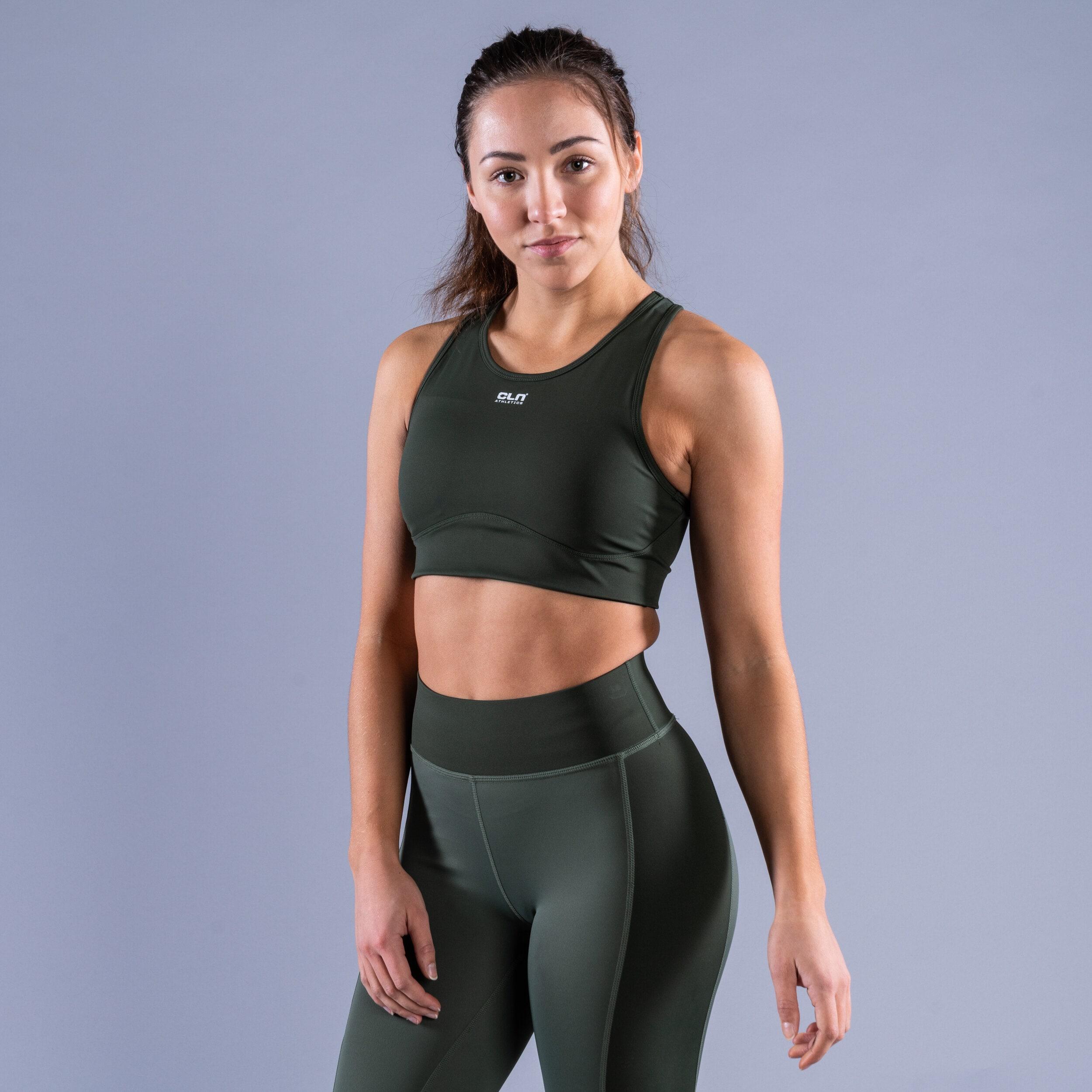 CLN Intense sport bra Dark green
