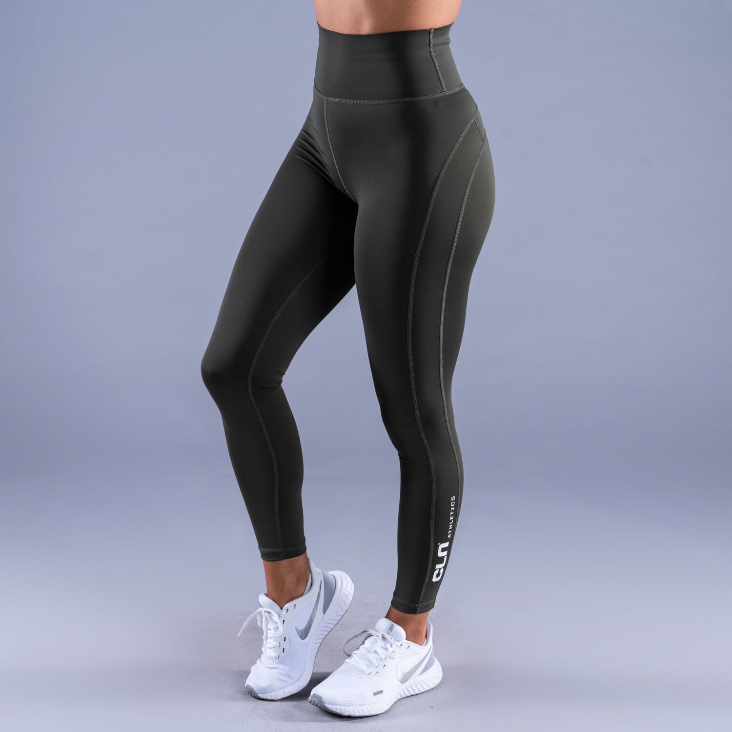 CLN Vitality ws tights Forest green