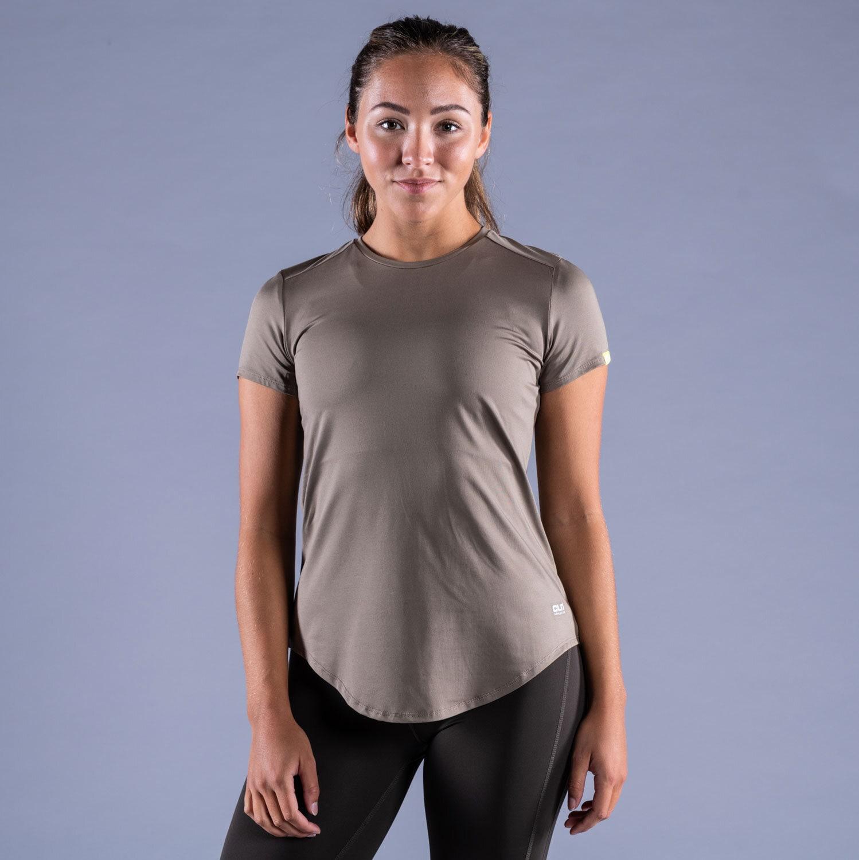 CLN Lucy ws t-shirt Dark khaki