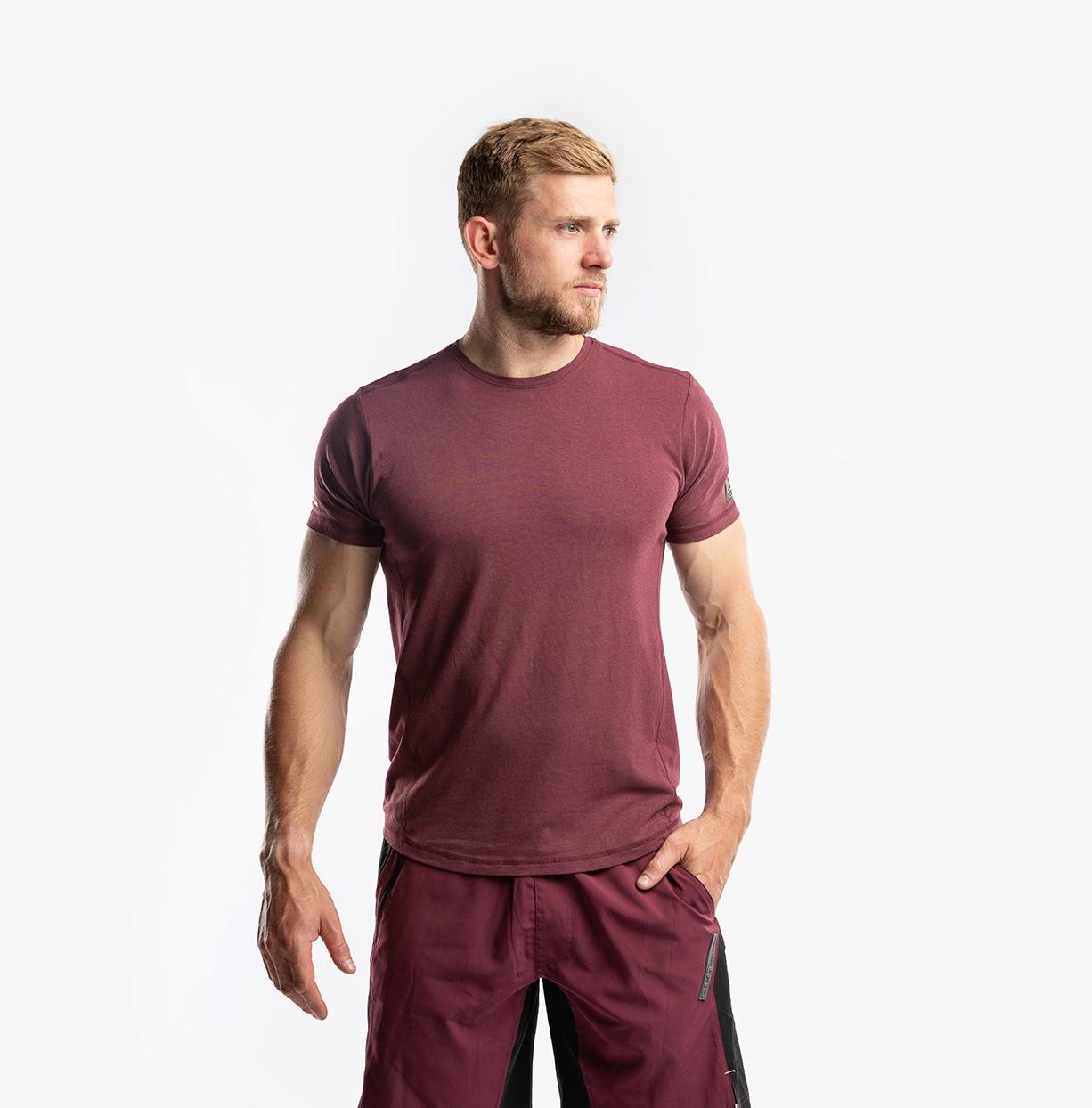 CLN Bamboo T-Shirt Burgundy