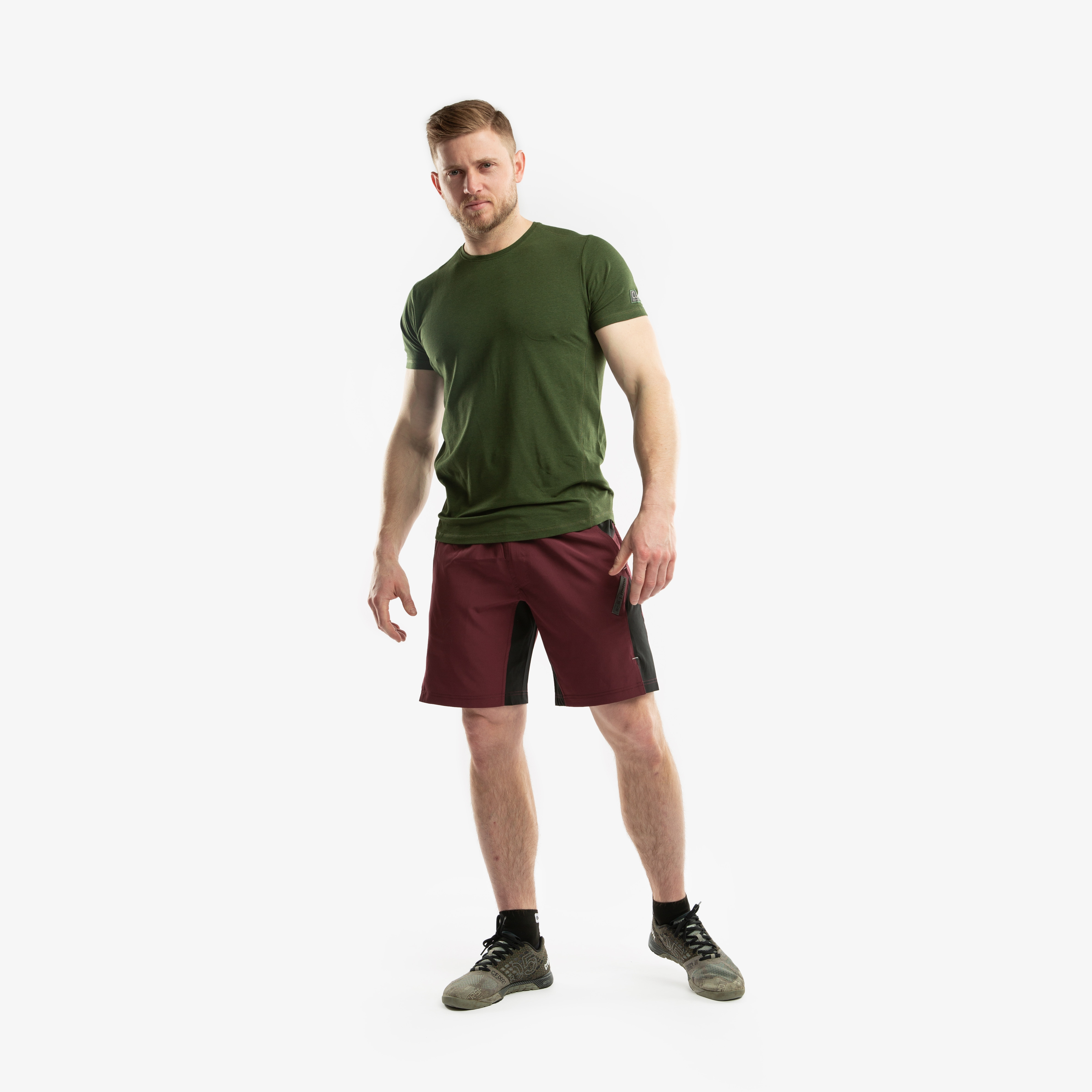CLN Bamboo T-Shirt Forrest green