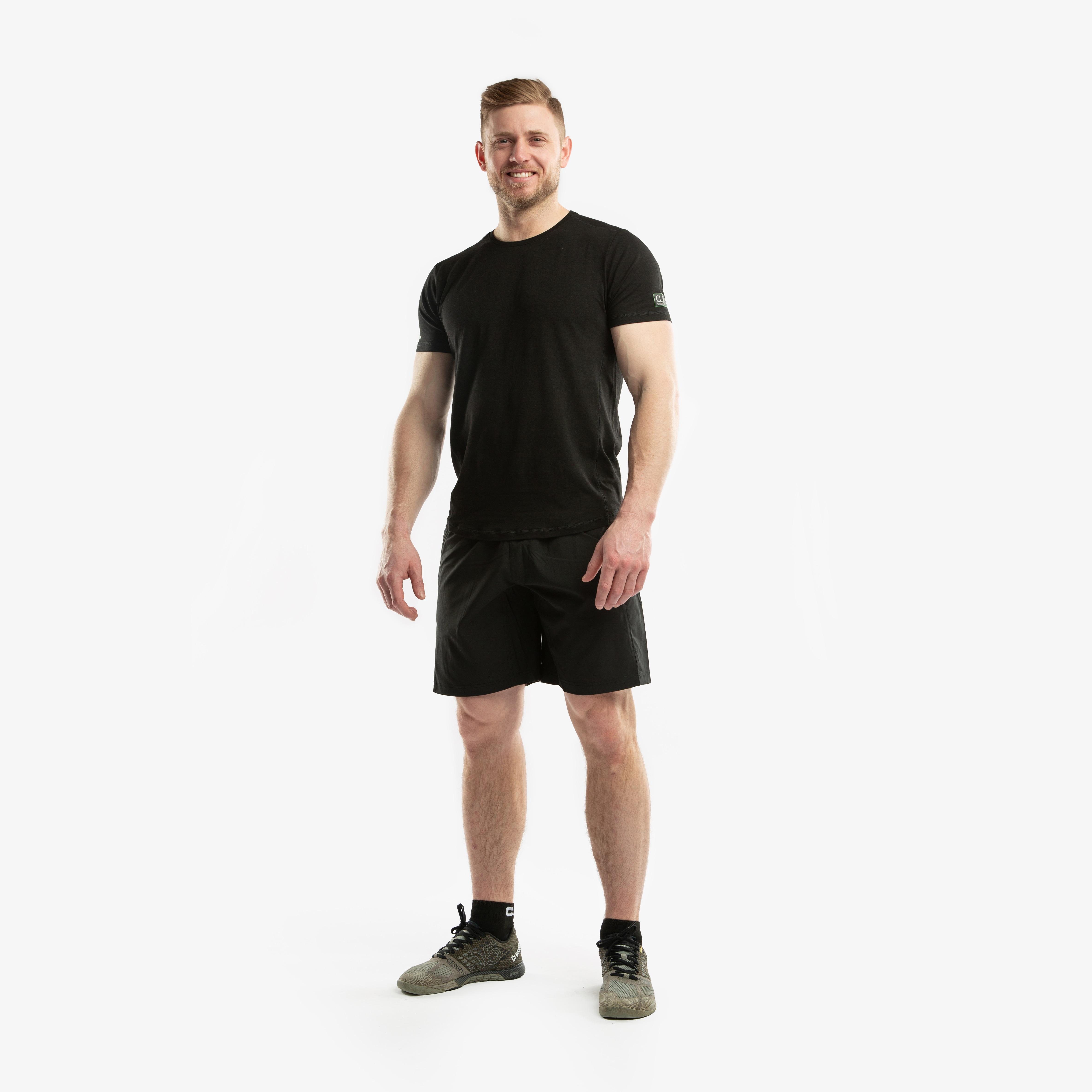 CLN Bamboo T-Shirt Black