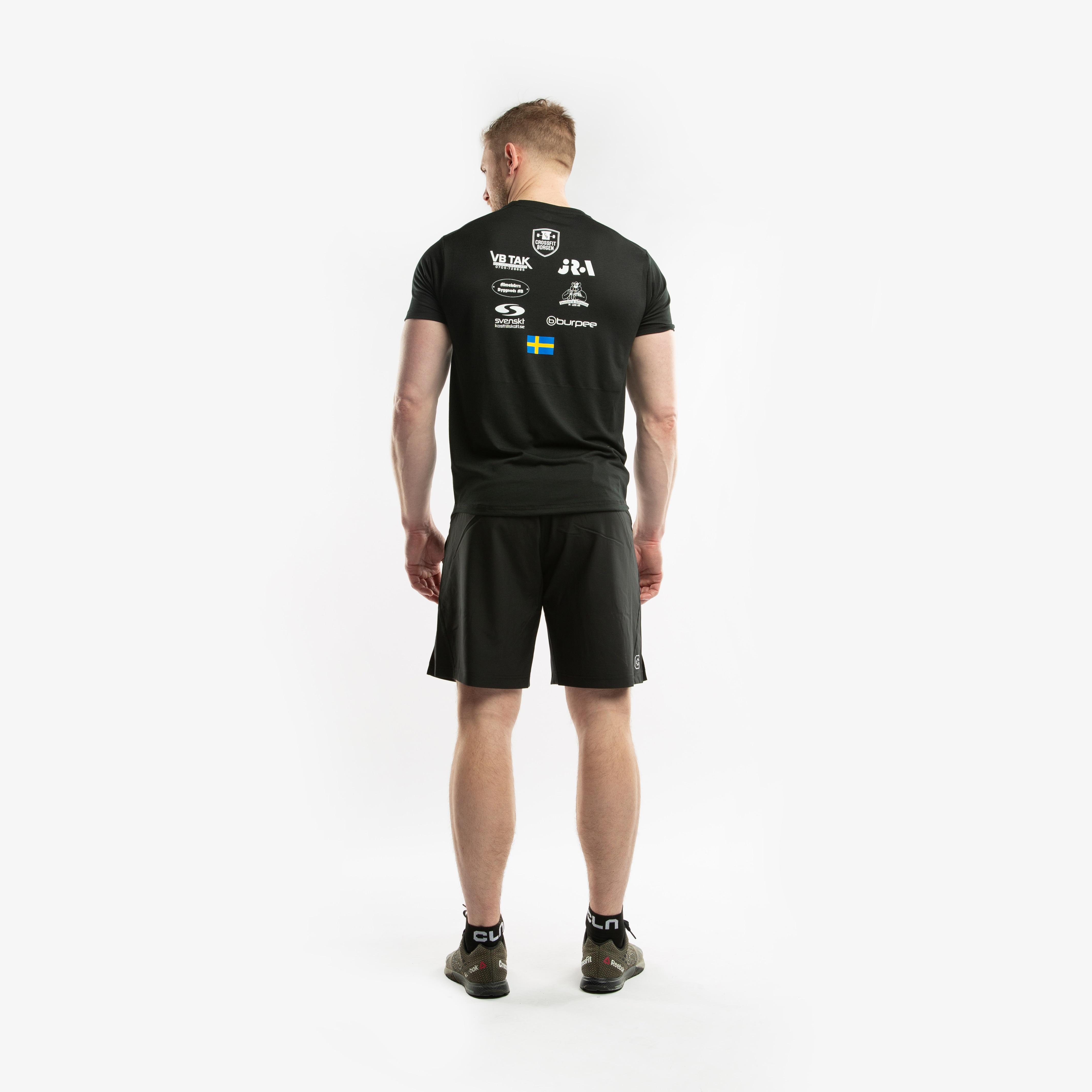 CLN Linus supporter t-shirt Black