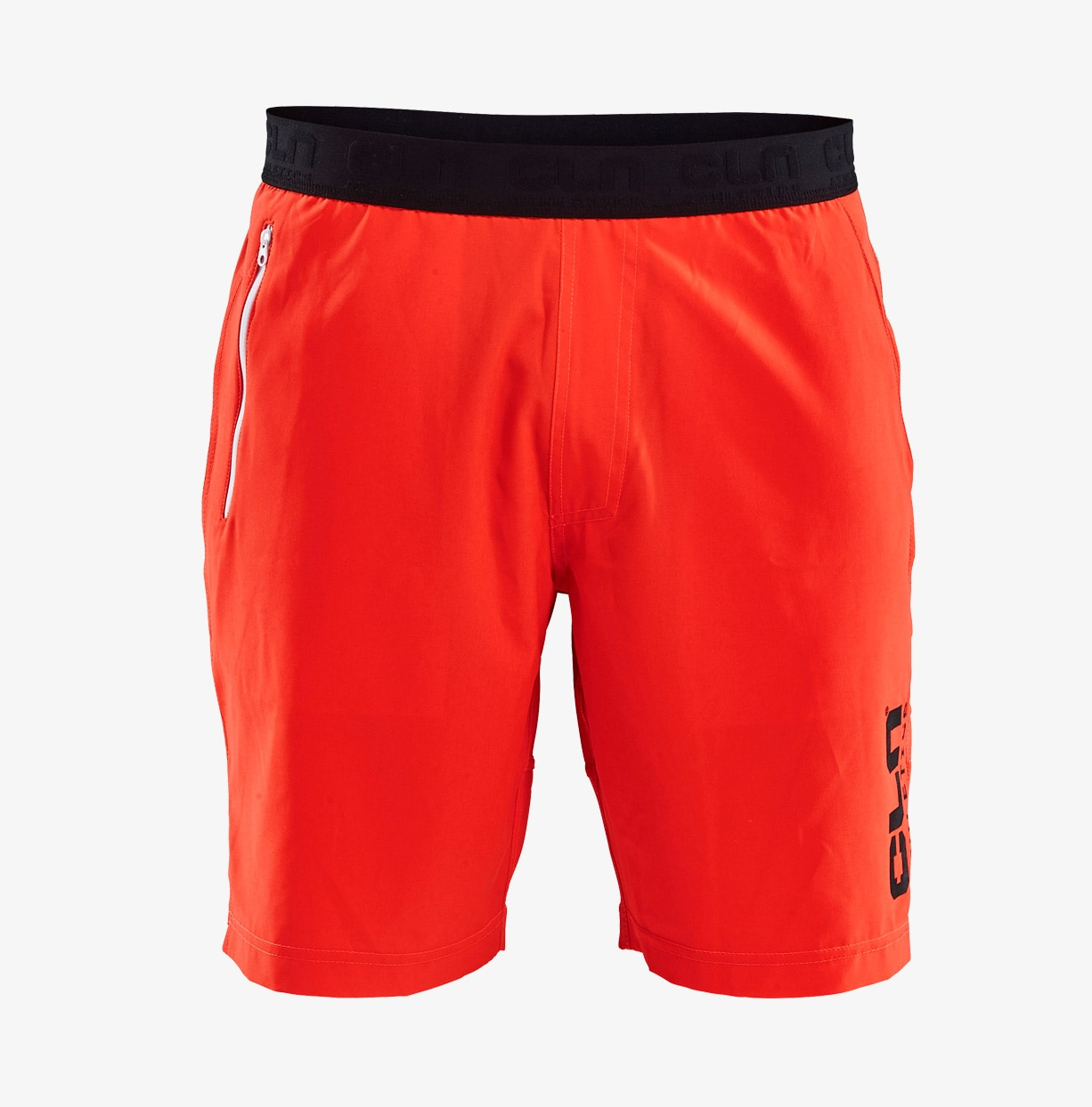 CLN-Impact-shorts-Neon-Red-front