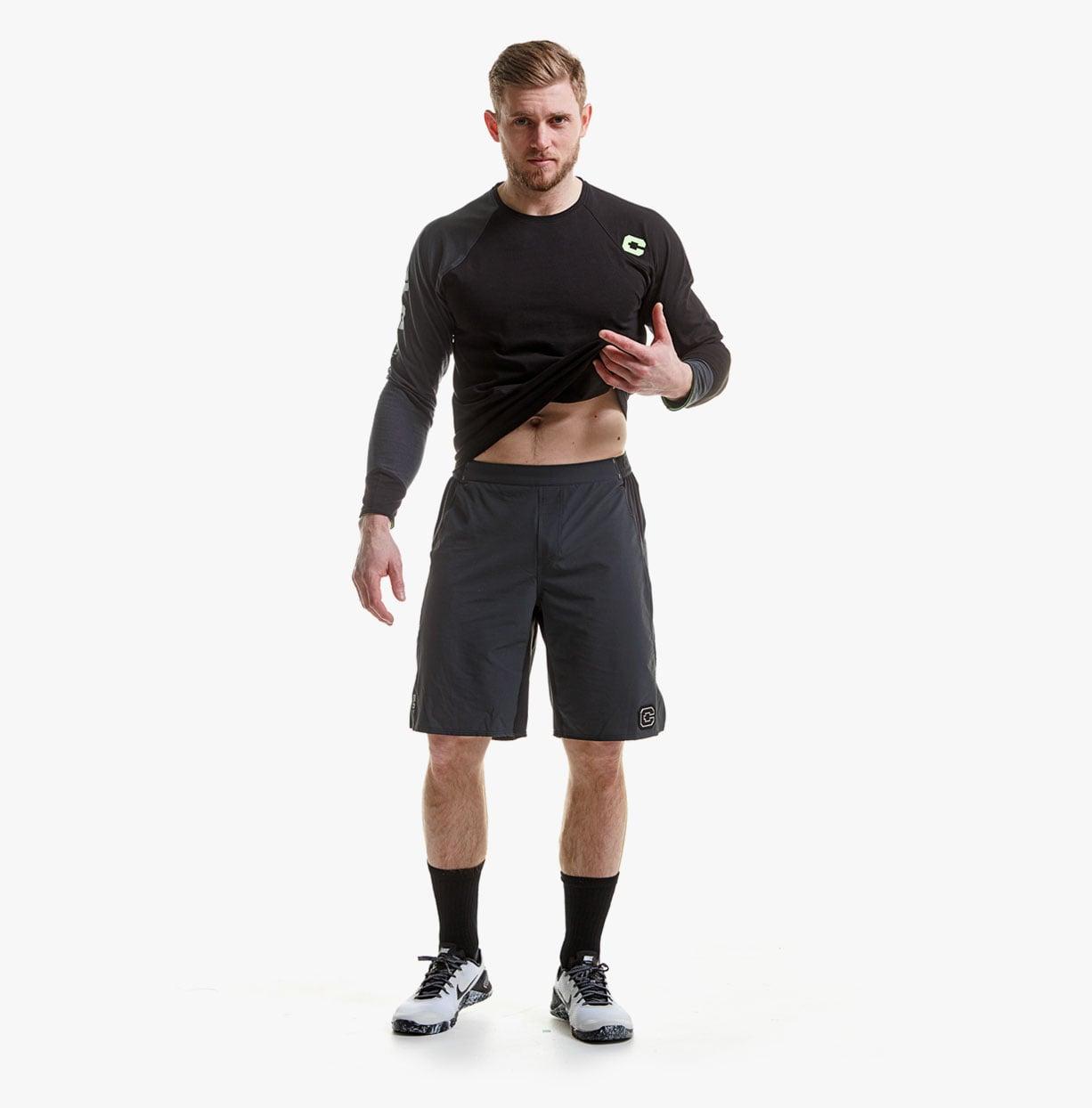 CLN-Launch-Shorts---DK-grey-1
