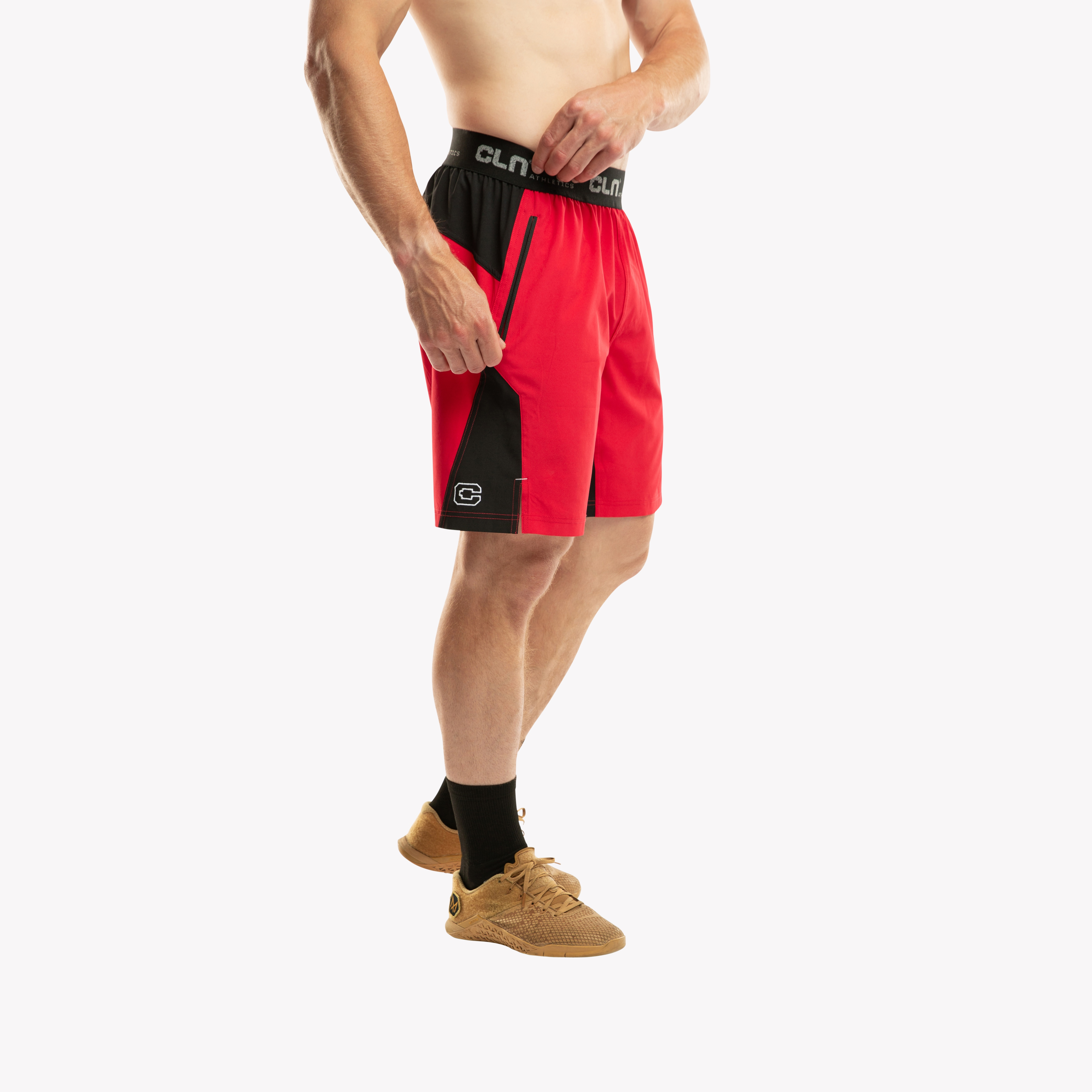 CLN Injection Shorts Red