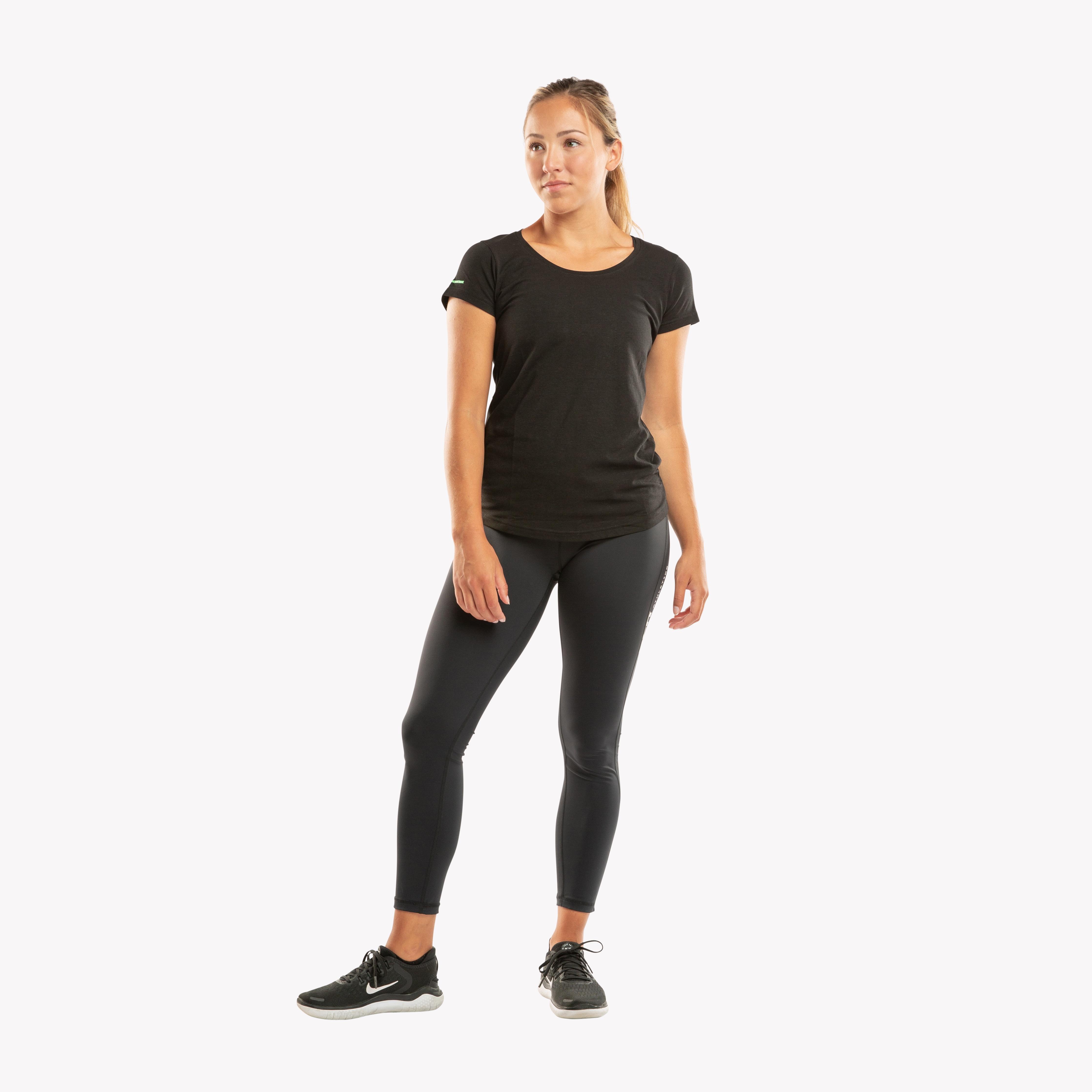 CLN Bamboo ws T-shirt Black