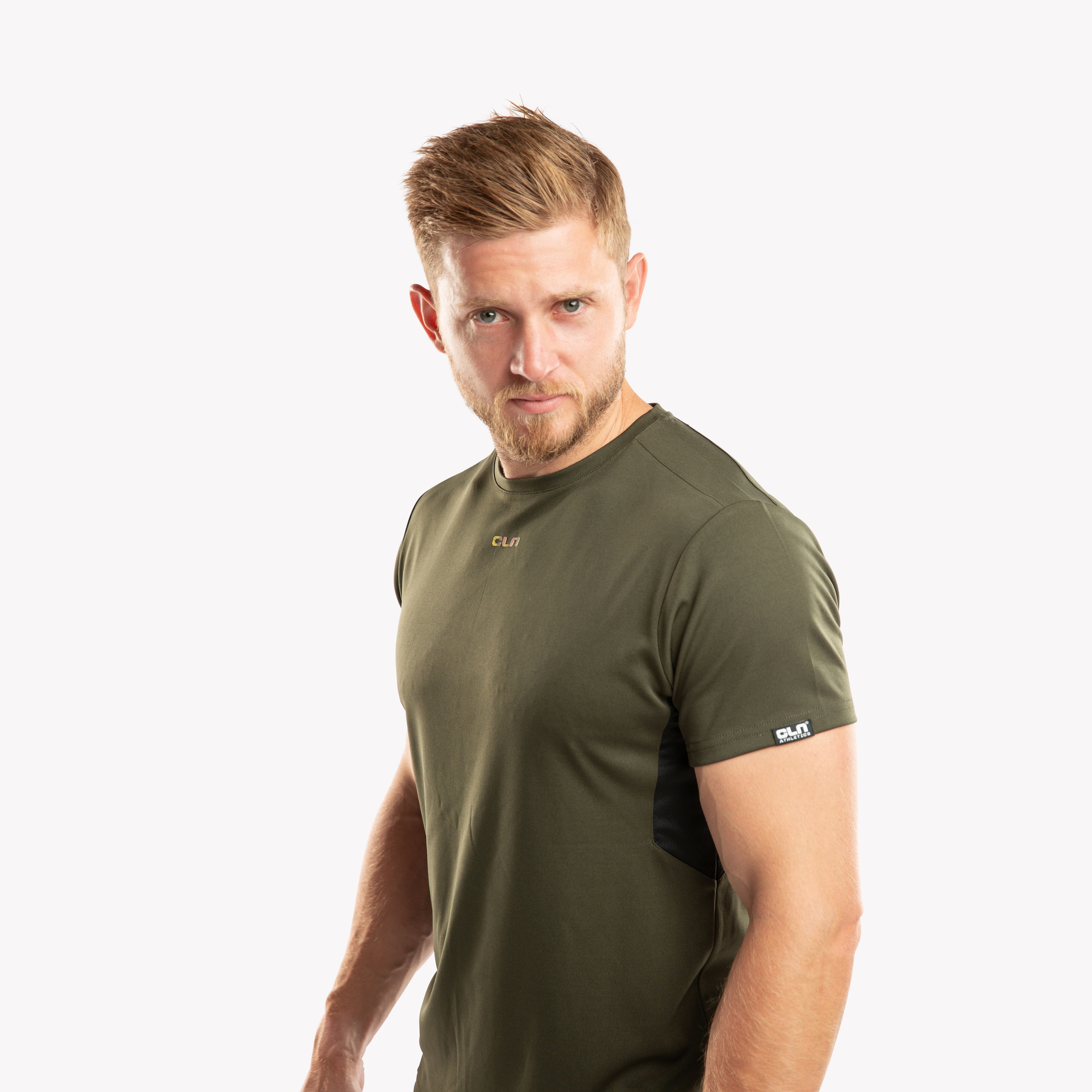 CLN Exhaust t-shirt Dark olive