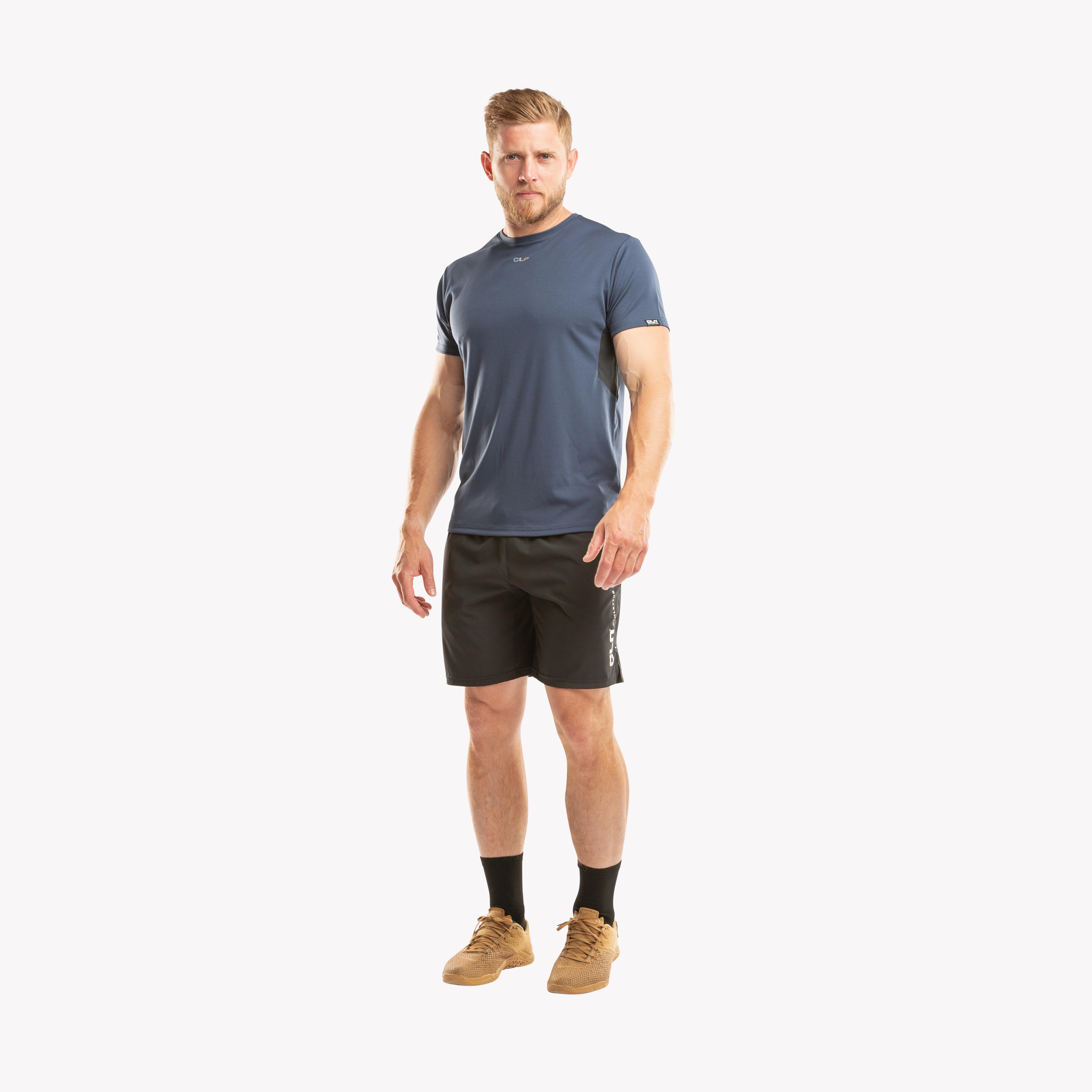 CLN Exhaust t-shirt Indigo blue