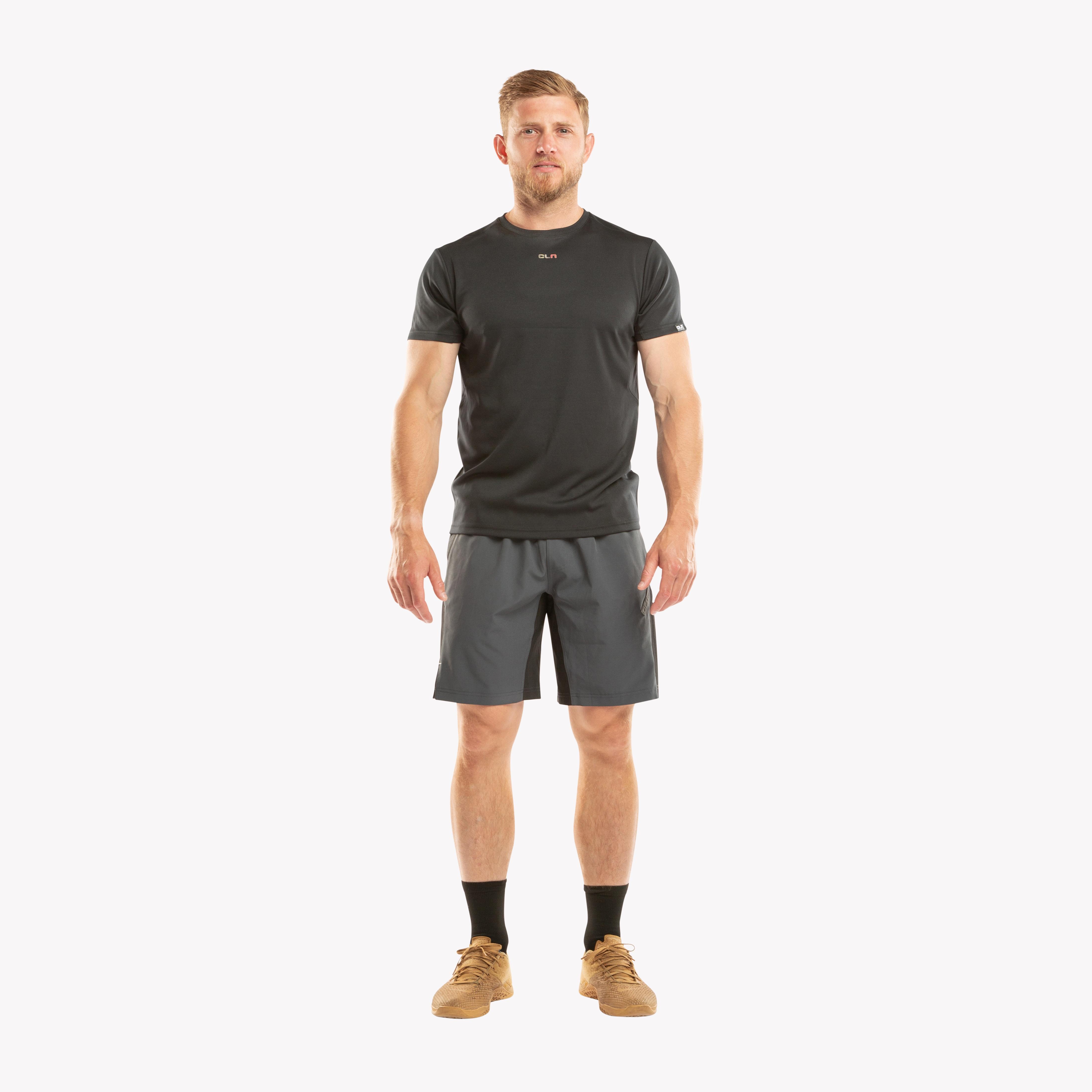 CLN Exhaust t-shirt Black