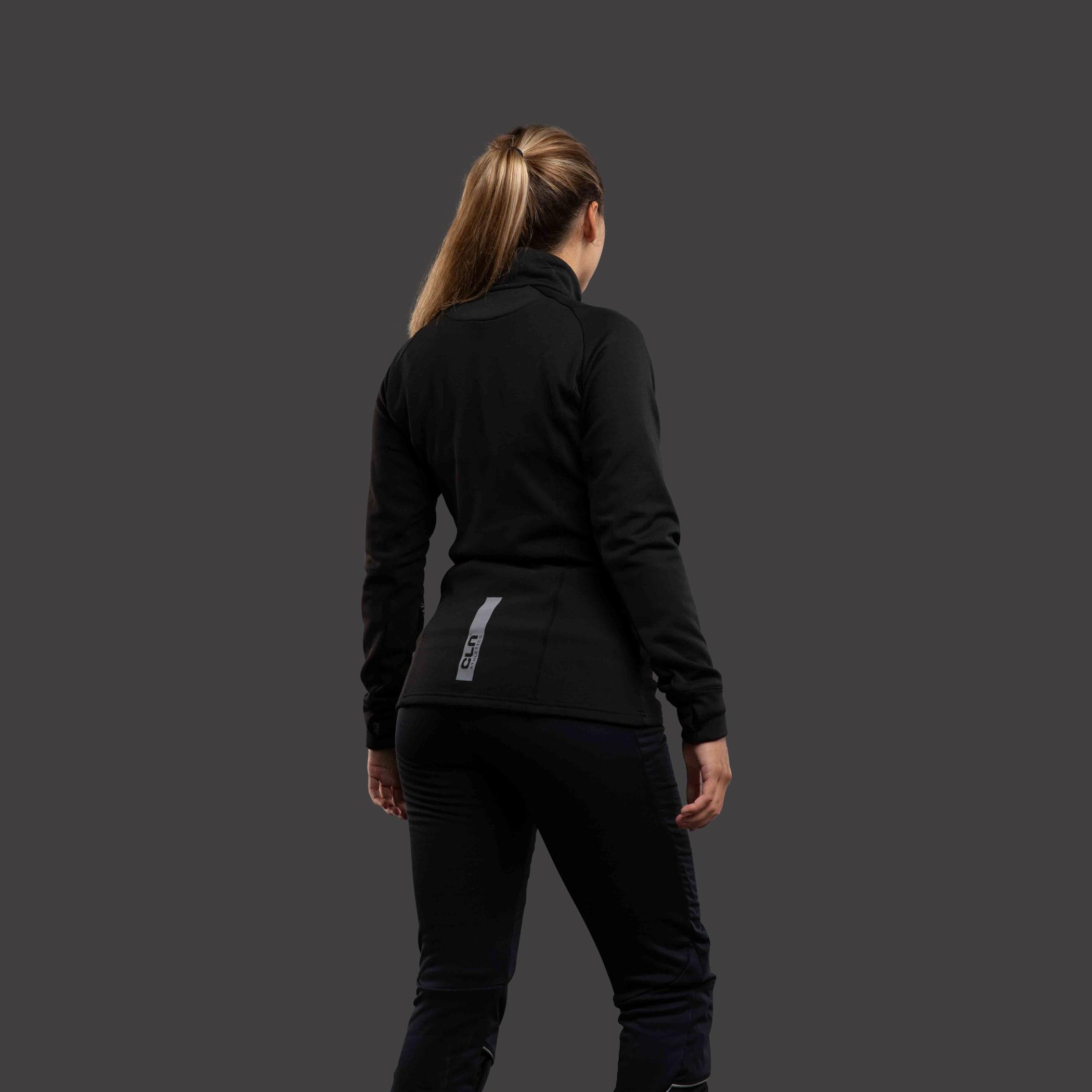CLN Viper ws 1/2 zip Black