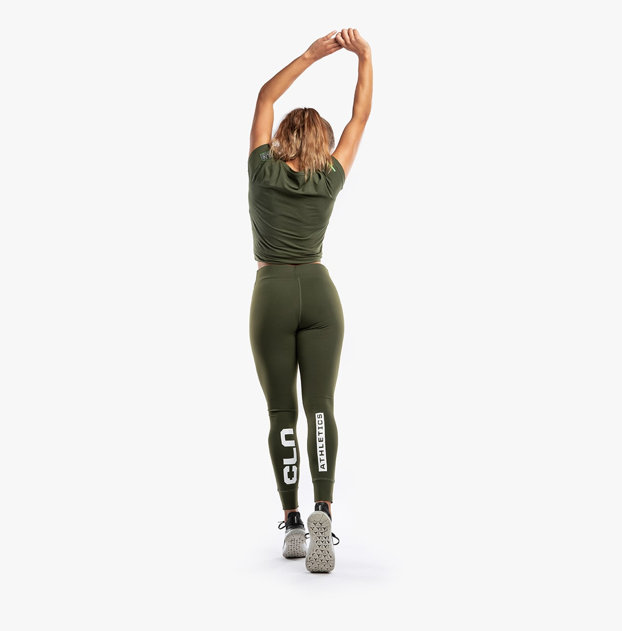 CLN Flex ws Tights Army
